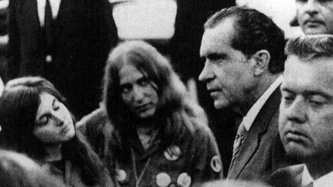 PBS NewsHour -- New Nixon Tapes Reveal Details of Meeting With Anti-War...