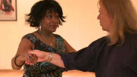 PBS NewsHour -- Rita Dove Shows Off Her Dance Moves