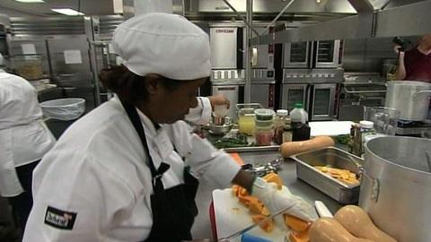 PBS NewsHour -- Chefs Cook Up Ideas for Healthy School Lunches