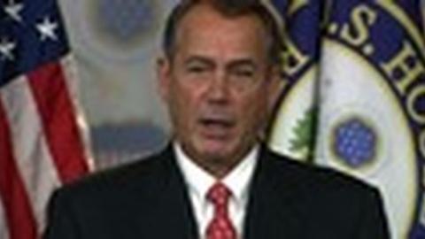 PBS NewsHour -- Congress Goes Home After House GOP Spurns Boehner's Plan