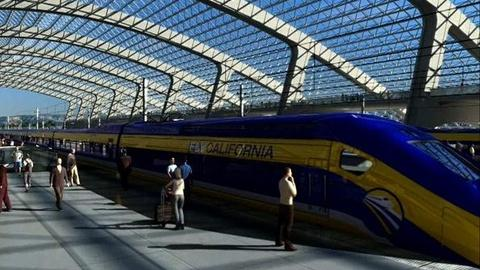 PBS NewsHour -- Will Brown's Vision for High-Speed Rail Stay on Track?
