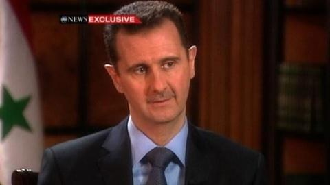 PBS NewsHour -- Syria's Assad Denies Ordering Deadly Crackdown as...