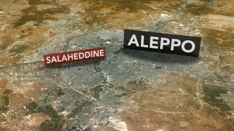 PBS NewsHour -- Syrian Troops Wage Fierce Ground Assault in Aleppo
