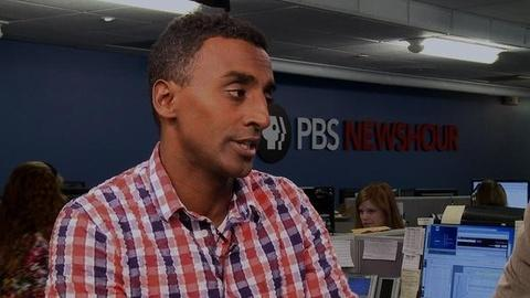 """PBS NewsHour -- Conversation: Marcus Samuelsson Says """"Yes, Chef"""" In New Memo"""