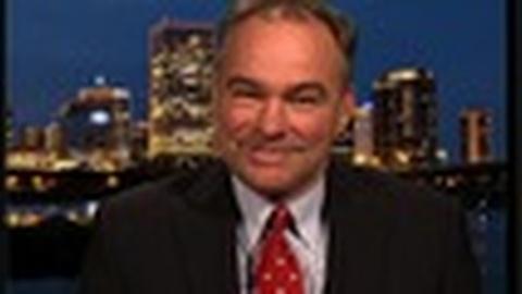PBS NewsHour -- Senator Tim Kaine 'Heartened' by Bipartisan Budget Solutions