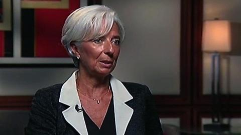 PBS NewsHour -- Christine Lagarde on U.S. Economic Recovery