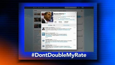 PBS NewsHour -- Twitter #Hashtags a #DoubleEdgedSword for #Obama, #Romney