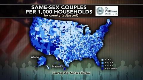 PBS NewsHour -- What Does Data Reveal About the Geography of Marriage?