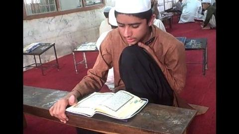 PBS NewsHour -- Raw Video: Students Learning the Quran