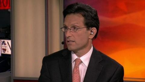 PBS NewsHour -- Rep. Eric Cantor: Romney, Ryan Improves Life for Americans