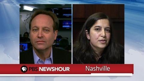 PBS NewsHour -- Gibson Guitars Under Investigation