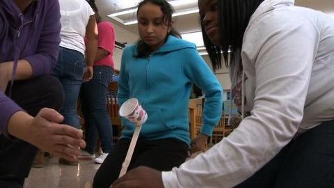PBS NewsHour -- Oakland Program Aims to Pique Girls' Interest in Science,...