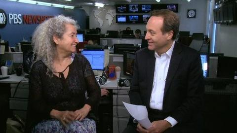PBS NewsHour -- Conversation: Woody Guthrie at 100