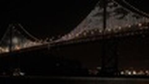 PBS NewsHour -- New Art Installation Lights Up San Francisco's Other Bridge