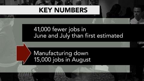 PBS NewsHour -- How Will Underwhelming August Jobs Report Affect Campaigns?