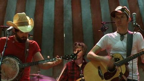 PBS NewsHour -- Avett Brothers Make Bluegrass a Family Affair