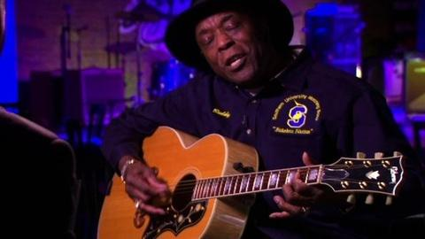 PBS NewsHour -- Buddy Guy Plays His Guitar for the NewsHour