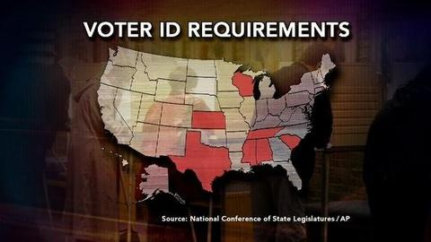 PBS NewsHour -- Waging a Battle Over Voter ID Laws