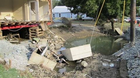 PBS NewsHour -- Impact Irene: White River Jct. and Hartford, VT