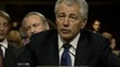 PBS NewsHour -- Defense Secretary Nominee Hagel Faces More Hurdles