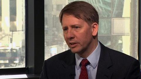 PBS NewsHour -- Richard Cordray Outlines Plan to Clean Up Consumer Lending