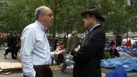 PBS NewsHour -- 'The Buyout of America' Author on Occupy Wall Street...