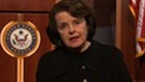 PBS NewsHour -- Dianne Feinstein to Reintroduce Expired Assault Weapons Ban