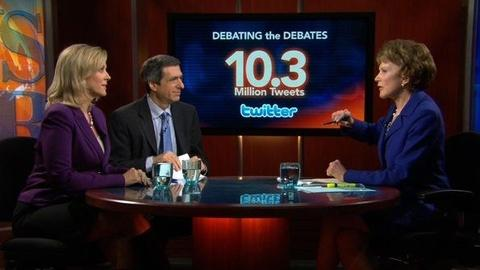 PBS NewsHour -- Debate Was 'Watershed' Moment of Multiple Screen Use