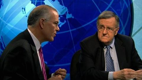 PBS NewsHour -- Shields and Brooks Debrief on the Debate, McGovern's Legacy