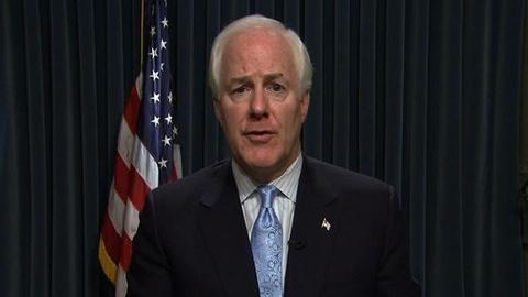 PBS NewsHour -- Cornyn to Obama: Take Tax Hikes Off The Table in Debt...