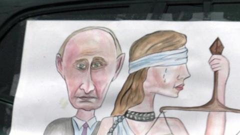 PBS NewsHour -- Despite Opposition, Putin Favored to Claim Presidency Again