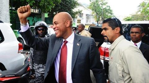 PBS NewsHour -- Will Haitians, International Community Rally Around...