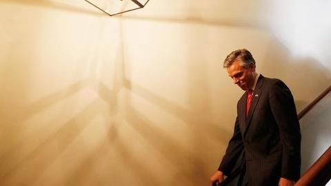 PBS NewsHour -- GOP Field Winnowed to 5 as Huntsman Ends Campaign