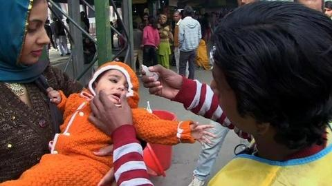 PBS NewsHour -- India Close to Being Polio-free, But Challenges Still Remain