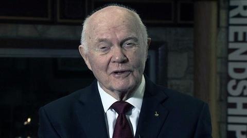 PBS NewsHour -- 50 Years Later, John Glenn Recounts His Historic Mission
