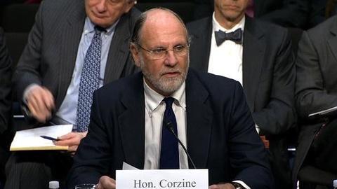 PBS NewsHour -- Corzine Testifies Before Former Senate Colleagues on...