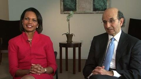 PBS NewsHour -- Rice, Klein Want to Better Education for National Security
