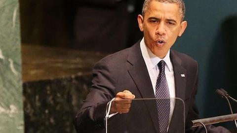PBS NewsHour -- At U.N., President Obama Condemns Violent Protests