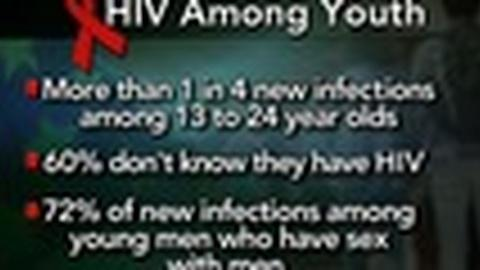 PBS NewsHour -- Young People Make Up More Than Quarter of New U.S HIV Cases