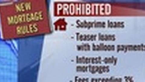 PBS NewsHour -- New Mortgage Regulations Require Proof of Ability to Repay