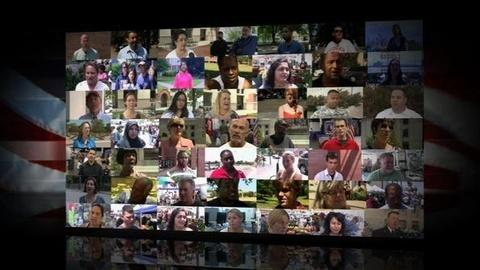 PBS NewsHour -- 9/11 Video Quilt: Americans Consider Aftermath of 9/11
