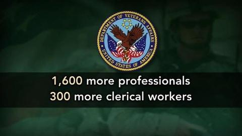 PBS NewsHour -- VA Adds 1,600 Workers to Fix Backlog