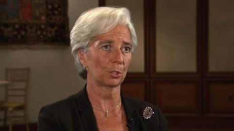 PBS NewsHour -- Lagarde Warns Dollar Could Decline if U.S. Debt Deal Not...
