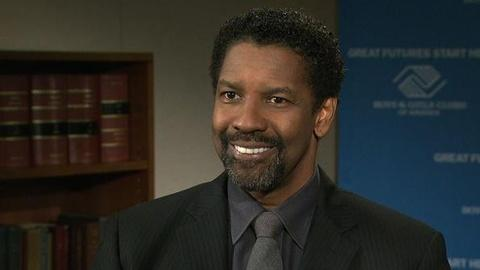 PBS NewsHour -- Denzel Washington on High School Dropouts, At-Risk Youth