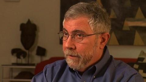 PBS NewsHour -- Paul Krugman on Germany's 'Whips and Scourges'