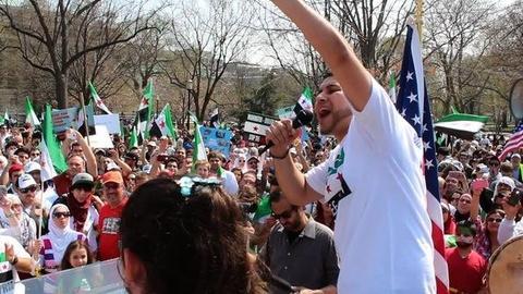PBS NewsHour -- Syrian-Americans Demand Regime Change