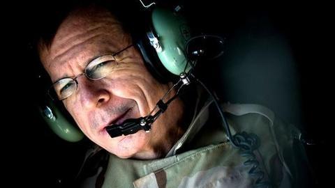 PBS NewsHour -- Joint Chiefs Chairman Mullen Bids Farewell After 40 Years...