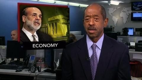PBS NewsHour -- News Wrap: Bernanke Stops Short of Announcing Stimulus Plan