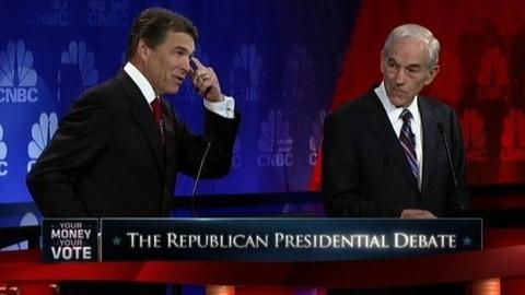 PBS NewsHour -- Perry Campaign Looks to Rebound From Embarassing Debate...