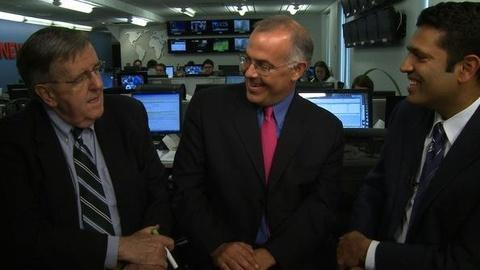 PBS NewsHour -- The Doubleheader: Rick Perry vs. Mitt Romney and College...